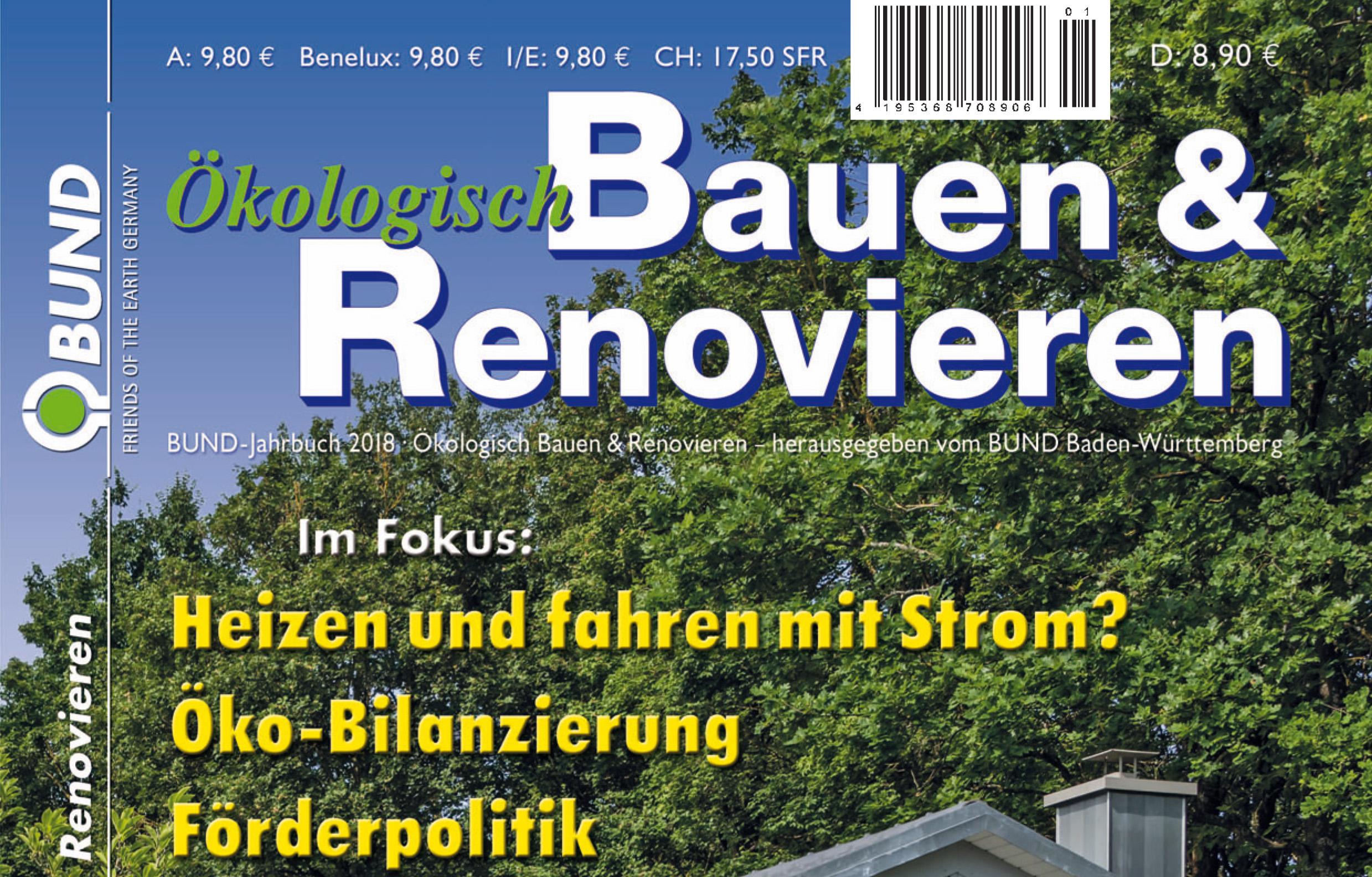 Bund Jahrbuch 2018 Okologisch Bauen Und Renovieren Nachhaltige